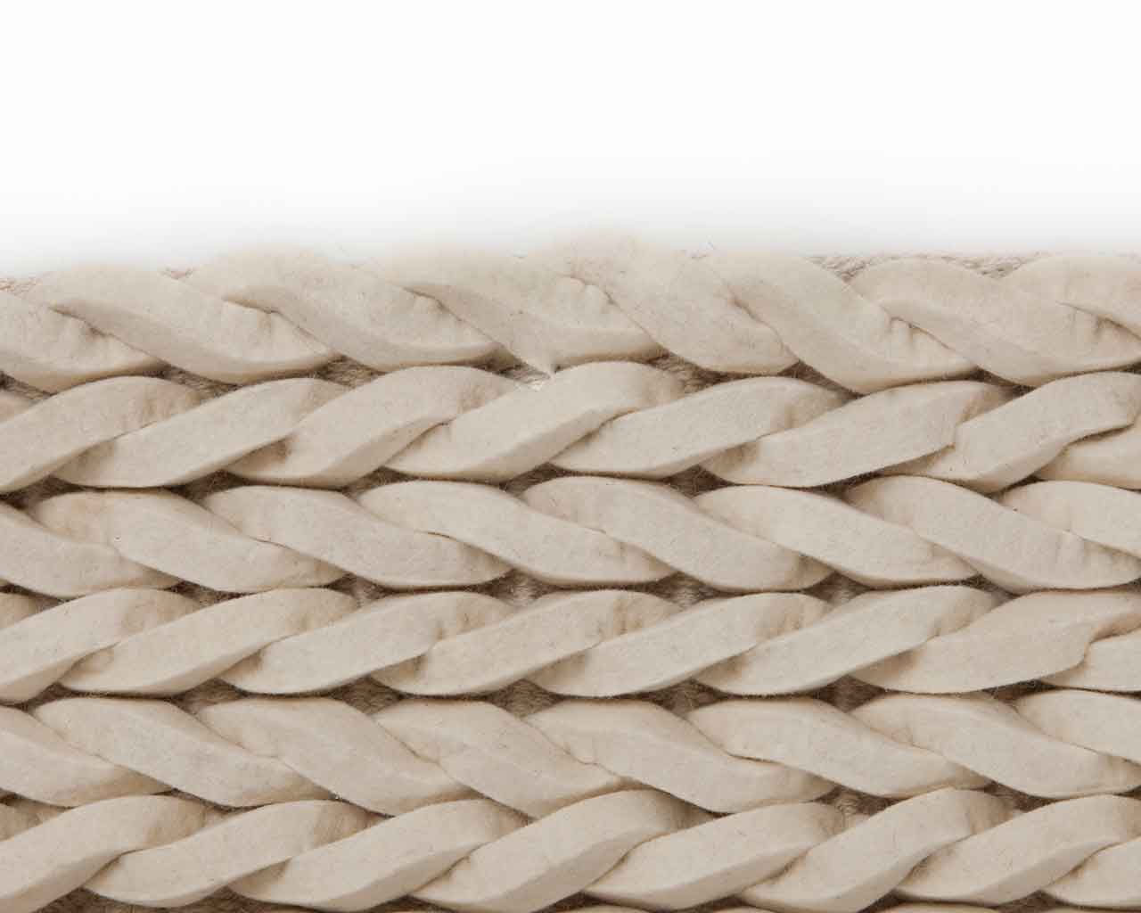 cable wool rugs white 1 1