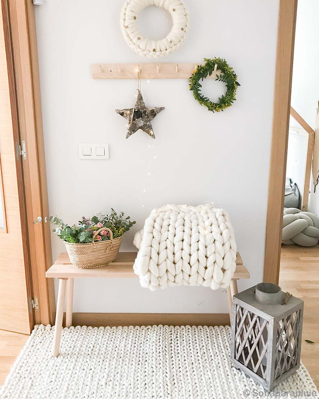 assorted wall craft pieces braided bedroom rugs