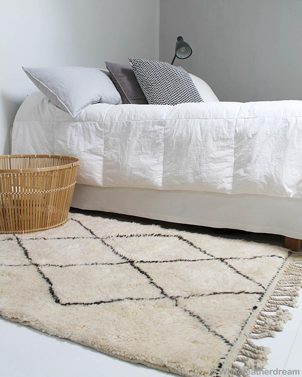 basket bed and lamp african contemporary rugs