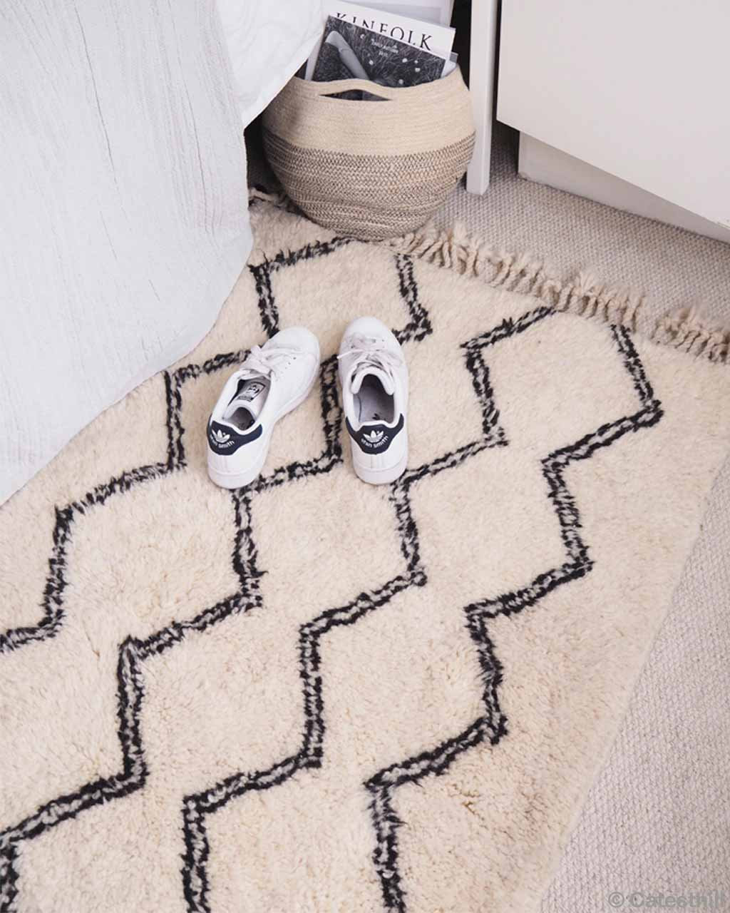 hand knotted mens white shoes and basket berber modern carpet