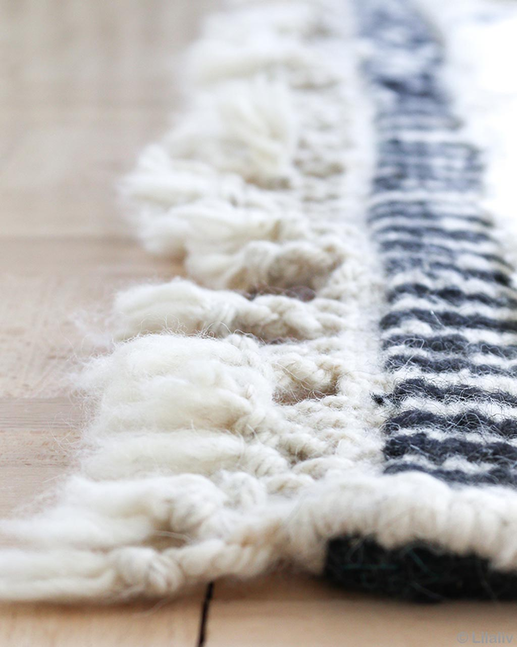 handmade woolen on wooden floor beni ourain rugs