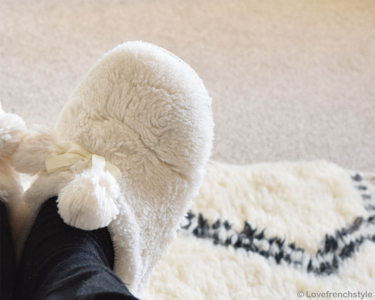 nice fluffy white shoes made in morocco rugs