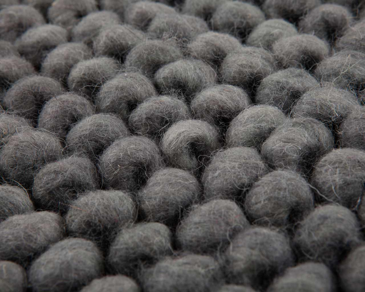 pure natural wool carpet grey